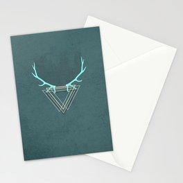 minimalistic deer Stationery Cards