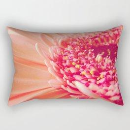 Pink Germini Close up 4 Rectangular Pillow