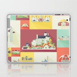 Los Angeles Landmarks Laptop & iPad Skin