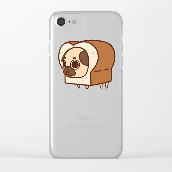 Puglie Loaf Clear iPhone Case