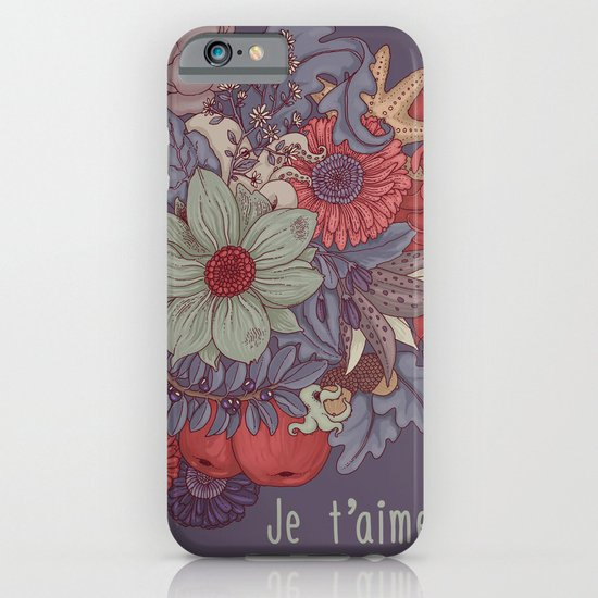 the wild side - dusty tones iPhone & iPod Case