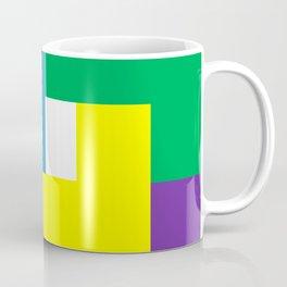 Rainbow Blocks Coffee Mug