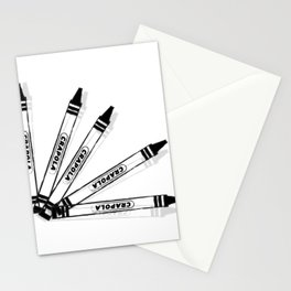 Crapola (an expression of anger or frustration) Stationery Cards