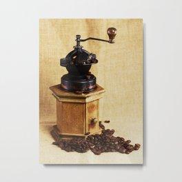Coffee grinder NO.2 Metal Print