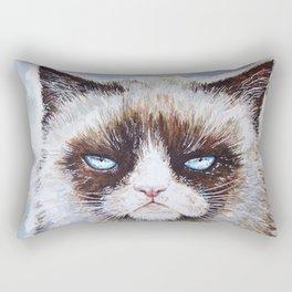 Tard the cat Rectangular Pillow