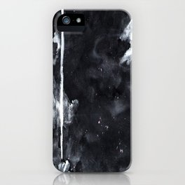 Black N White iPhone Case