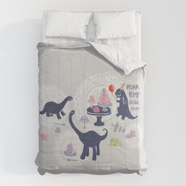 Dinosaur Jello Debutante Party Comforters