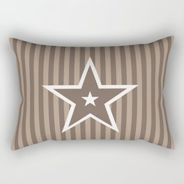 The Greatest Star! Coffee and Cream Rectangular Pillow