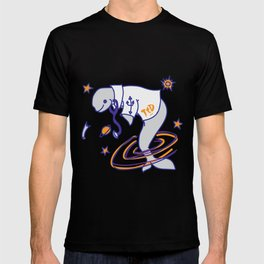 Team The Doctor - Space Whale T-shirt