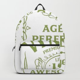 Green-Vintage-Limited-1927-Edition---90th-Birthday-Gift Backpack