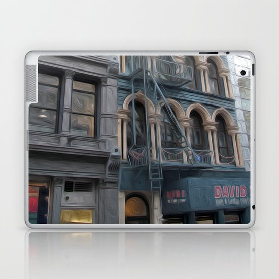 Fire Escape Laptop & iPad Skin