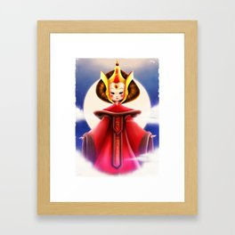 The Undercover Queen Framed Art Print