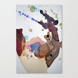 Mapping Air Canvas Print