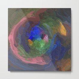 Abstract Mandala 92 Metal Print