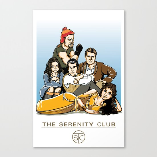 The Serenity Club Canvas Print