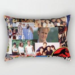 90's Nostalgia Rectangular Pillow