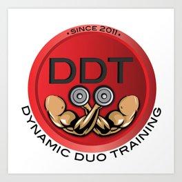 Men's DDT T's Art Print