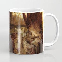 Fly neither too low nor too high-high. Coffee Mug