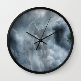 Whispers of Love Wall Clock