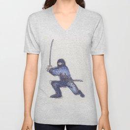Blue Ninja Unisex V-Neck