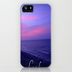 Let It Be Sunset iPhone (5, 5s) Slim Case