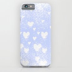 snowing hearts iPhone 6s Slim Case