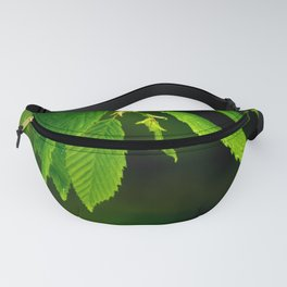Glowing green Fanny Pack
