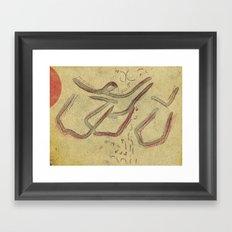 bulls [AGAINST tauromaquia] Framed Art Print