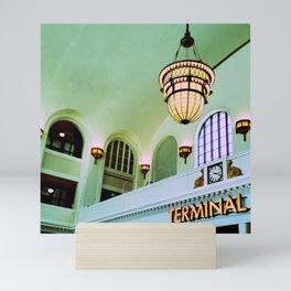 Terminal Mini Art Print