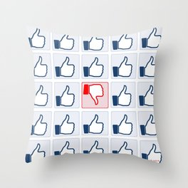 The Like Culture Throw Pillow
