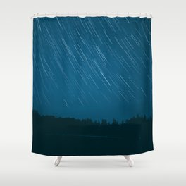 startrails Shower Curtain