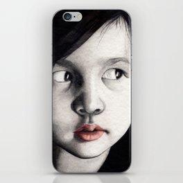 oriental girl iPhone Skin