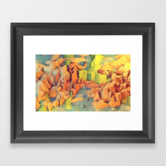 Vacation Island Framed Art Print