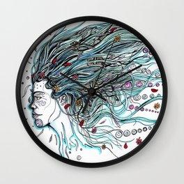 Flowing Dreams Wall Clock