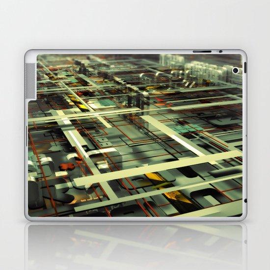 3D poster Laptop & iPad Skin