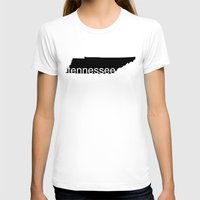 tennessee T-shirts featuring Tennessee by Isabel Moreno-Garcia