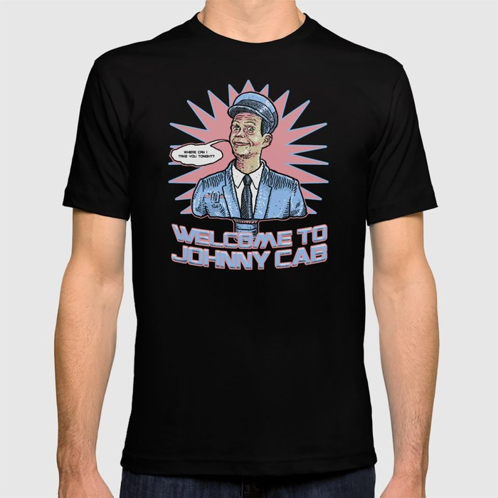 Johnny Cab - Total Recall T-shirt