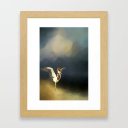 Strut Your Stuff Framed Art Print
