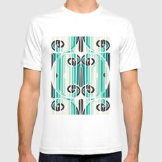 Solo Palace Two MEDIUM White Mens Fitted Tee