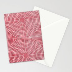 Robotic Boobs Red Stationery Cards