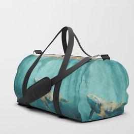 Light Beneath Duffle Bag