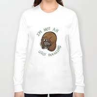 platypus Long Sleeve T-shirts featuring The platypus problem by Simplasticity