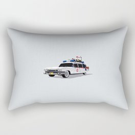 Ghostbusters Illustrated Ecto 1 Rectangular Pillow