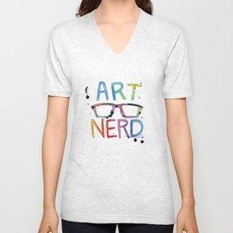 ART NERD Unisex V-Neck