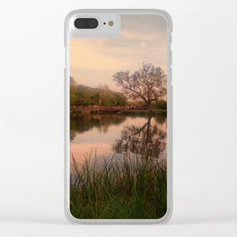 Embrace the Autumn Clear iPhone Case
