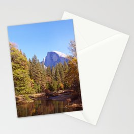 Merced River and Half Dome Stationery Cards