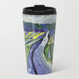 Pinot Noir Label Art for BIN 616 Travel Mug