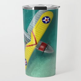 Duck in Trouble Travel Mug