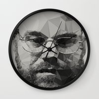actor Wall Clocks featuring R.I.P Philip Seymour Hoffman by David
