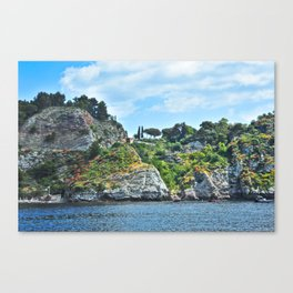 Taormina, Sicily II Canvas Print